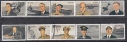 MALDIVES, 1992   Yvert Nº 1271 / 1275  MNH,   50 Aniversario De Ataque Japones Sobre Pearl Harbor - Militares