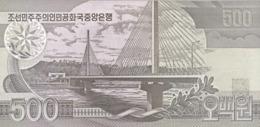 KOREA P. 44b 500 W 1998 UNC - Corea Del Nord