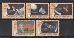 MALDIVES, 1992  Yvert Nº 1050 / 1054 MNH, Viajes Espaciales - Maldivas (1965-...)