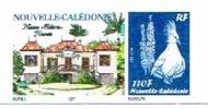 Nouvelle Caledonie Timbre Personnalise Timbre A Moi Prive BUNEL Maison Celieres Livre Neuf - Sonstige