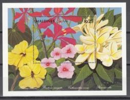 MALDIVES, 1992   Yvert Nº HB 223,  MNH, Flores Del Mundo - Vegetales