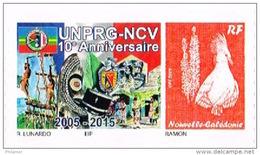 Nouvelle Caledonie Timbre Personnalisé Autocollant Privé Union Personnel Retraite Gendarmerie Vanuatu Gaul 2016 Neuf - Unclassified