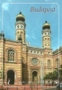 JUDAICA * JEW * JEWISH * DOHANY STREET * SYNAGOGUE * BUDAPEST * Top Card Bp 74 - Judaísmo
