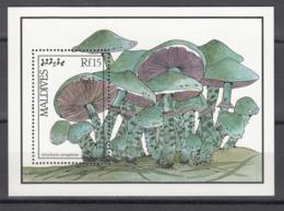 MALDIVES, 1987   Yvert Nº HB 130  MNH, Stropharia Aeruginosa - Hongos