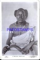 119319 AFRICA SUDAN SHULLUK COSTUMES NATIVE MAN BREAK POSTAL POSTCARD - Sudán