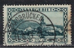 SARRE             N°     YVERT    110    ( 1 )         OBLITERE       ( Ob  5/29 ) - 1920-35 Société Des Nations