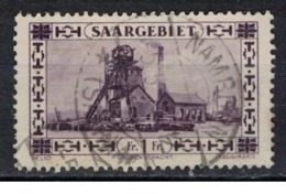 SARRE             N°     YVERT    116  ( 1 )  OBLITERE       ( Ob  5/29 ) - 1920-35 Saargebiet – Abstimmungsgebiet