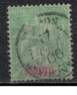NOUVELLE CALEDONIE             N°     YVERT    59    ( 1 )           OBLITERE       ( Ob  5/29 ) - Nueva Caledonia