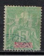 NOUVELLE CALEDONIE             N°     YVERT    59    ( 2 )           OBLITERE       ( Ob  5/29 ) - Nueva Caledonia