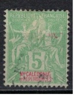 NOUVELLE CALEDONIE             N°     YVERT    59    ( 4 )           OBLITERE       ( Ob  5/29 ) - Nueva Caledonia