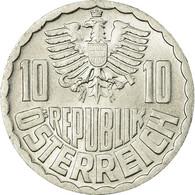Monnaie, Autriche, 10 Groschen, 1973, Vienna, SUP+, Aluminium, KM:2878 - Autriche