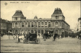 Bruxelles, SBP : Gare Du Nord  / TRAM 59 - Ferrovie, Stazioni
