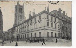 75 - PARIS - Lycée Henry IV Et Tour De Clovis - Animée - 1904 (S127) - Educazione, Scuole E Università