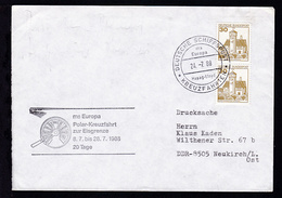 DEUTSCHE SCHIFFSPOST Ms Europa Hapag-Lloyd KREUZFAHRTEN 24.7.88 + Cachet Polar- - Unclassified