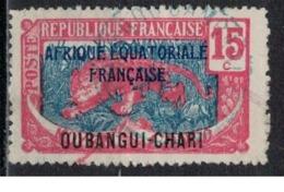 OUBANGUI               N°     YVERT   48   OBLITERE       ( Ob  5/30 ) - Oubangui (1915-1936)