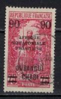 OUBANGUI               N°     YVERT   69      OBLITERE       ( Ob  5/30 ) - Oubangui (1915-1936)