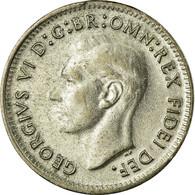 Monnaie, Australie, George VI, Threepence, 1949, TB+, Argent, KM:44 - Threepence