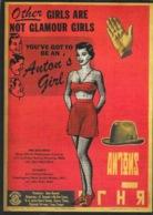 Carte Retro: Publicité Chapeau Anton 1957 - Other Girls Are Not Glamour Girls (Melbourne, Sydney) - Pubblicitari