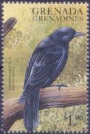 Grenada Grenadines 1999 MNH, Common Grackle, Sea Birds    ( - Cuckoos & Turacos