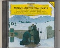 Cd   BRAHMS  Un Requiem Allemand  VIENNE  Philharmoniker Carlo Maria Giulini   Etat: TTB Port 110 GR - Classique
