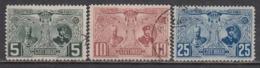 Bulgarie 1907 - 20 Ann. De Regne De Ferdinand I, YT 69-71, Obliteres - Used Stamps
