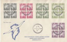 Enveloppe  FDC  1er  Jour   GROENLAND   1963 - FDC