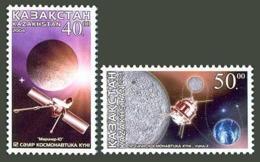 Kazakhstan 2004. Cosmonautics Day. Space. Mariner-10. Luna-3.  Mi.# 449.  MNH - Kazajstán