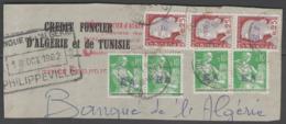 ALGERIE:  N°354(x4)+355(x3) En Paires/bande (EA), Joli Fragment De DJIDJEL ! - Algeria (1962-...)