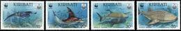 1991, Kiribati, 566-69, ** - Kiribati (1979-...)