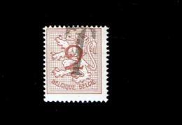Belgique. (OBP-COB) 1957. N°1026 A   *  Chiffre Sur Lion Héraldique *   2c . Obli - Belgium