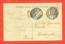 INTERI POSTALI - C 66  -  DA PONTREMOLI PER FONTANELLE - 1900-44 Vittorio Emanuele III