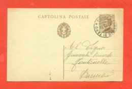 INTERI POSTALI - C 67 - DA BORGO VAL DI TARO PER FONTANELLE - 1900-44 Victor Emmanuel III