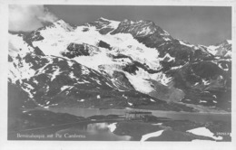 Berninahospiz Mit Piz Cambrena - GR Grisons