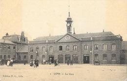 Lens - La Gare - Edition P.L. Lille - Carte N° 1 Non Circulée - Lens