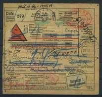 Paketkarte 1934 LEIPZIG Siehe Beschreibung (116620) - Deutschland