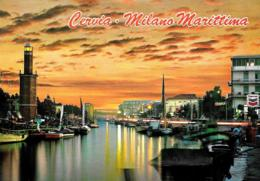 [MD3697] CPM - CERVIA MILANO MARITTIMA (RAVENNA) - IL PORTO - Viaggiata 1999 - Italie