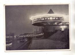 5000 KÖLN, Bastei Bei Nacht, Rheinufer, Blick Zum Dom, 1934 - Koeln