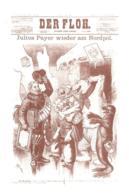 [MD3835] CPM - COLLEZIONE POSTALE ARTICA N° 96 CON ANNULLO E FIRME ILLUSTRAZIONE SATIRICA JULIUS PAYER - NV - Storia