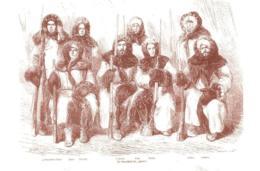 [MD3831] CPM - COLLEZIONE POSTALE ARTICA N° 92 CON ANNULLO E FIRME 1869 JULIUS PAYER - L'EQUIPAGGIO DELL'HANSA - NV - Storia