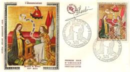 FDC 1er Jour : Primitif De Savoie 09/05/1970 N° 1640 Signé Jean PHEULPIN - 1970-1979