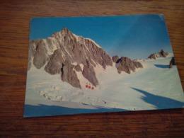 147882 COURMAYEUR FUNIVIA SULLA VALLEE BLANCHE - Cartoline