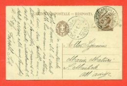 INTERI POSTALI - C 68   - DA  TRENTO PER SAN MICHELE ALL'ADIGE - Stamped Stationery