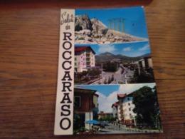 147885 FUNIVIA SALUTI DA ROCCARASO - Cartoline