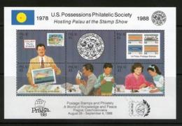 PALAU 1988  PRAGA'88    YVERT N°B4 NEUF MNH** - Palau