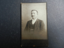 7ogg) ANTICA FOTOGRAFIA FOTOGRAFO VILLARS BIENNE EN FACE DE LA GARE 7 - Antiche (ante 1900)