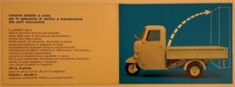 """08619 """"LAMBRO 550A - INNOCENTI - 1965 / 1967"""" PIEGHEVOLE ILLUSTRATO ORIGINALE - Moto"""