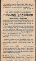 Corbeek-loo, Korbeek-Lo, 1936, Pauline Brasseur, Griffes - Images Religieuses