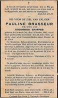 Corbeek-loo, Korbeek-Lo, 1936, Pauline Brasseur, Griffes - Santini