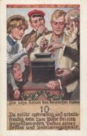 AK - Deutscher Schulverein - 10 Gebote D.Deutschen Volkes - Vignette Deutscher Schulverein - 1916 - Ansichtskarten