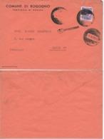 Enveloppe Lettre Italie 1-9-1959 Province De NOVARA . Commune De BOGOGNO à Destination De PARIS - 6. 1946-.. Repubblica